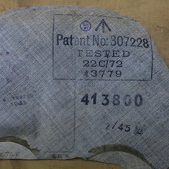1941 Mea West Inside Label