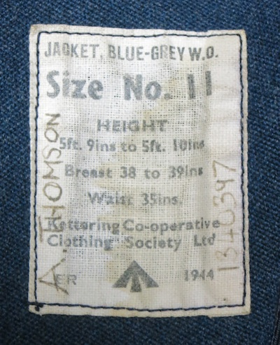 WO Jacket Label